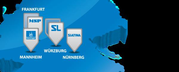 DSL Standorte