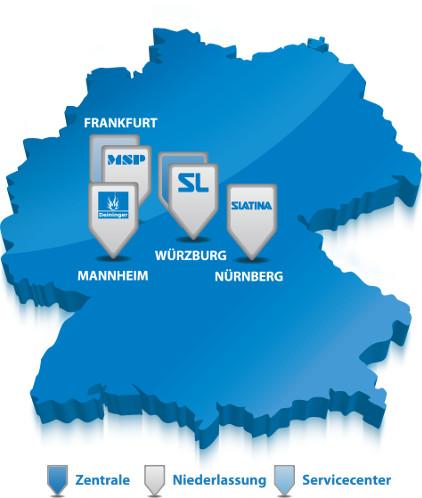 DSL Standortkarte