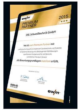 EWM-Urkunde