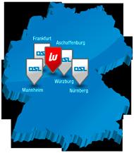 Karte - Werkzeug Weber und DSL Schweißtechnik