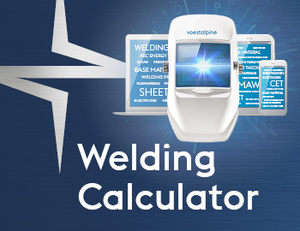 Böhler voeastalpine Welding Calculator